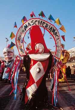 Carnival week in Viareggio