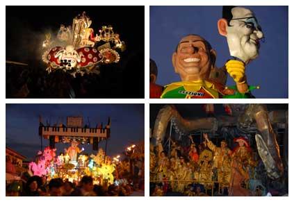 Italian Carnival in Viareggio: some pictures