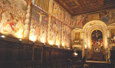 Oratorio del Gonfalone in Rome, Italy