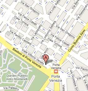 Spazio Oberdan on Google Maps - Milan