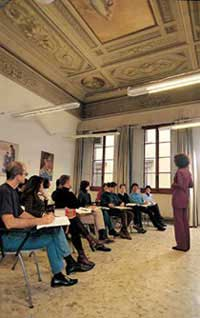Italian language course for teachers