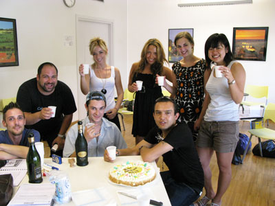 Students of Italian language in Milan