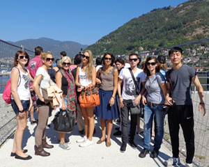 Trip to Como Lake organized by Scuola Leonardo Milan