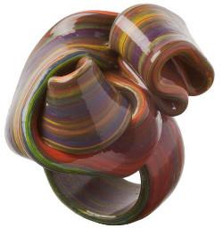 Triennale di Milano: Gaetano Pesce - Ribbon l'anello in resina flessibile