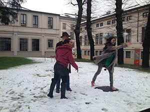 I nostri studenti sulla neve