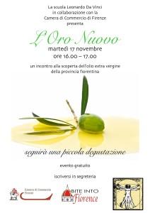 Evento Degustazione Olio Nuovo SLDV Firenze