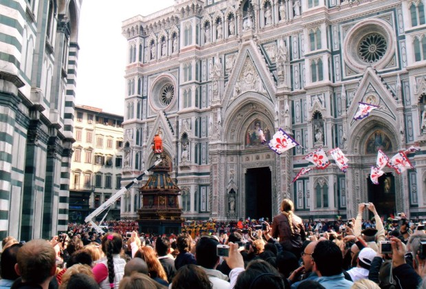 Scoppio del Carro Firenze