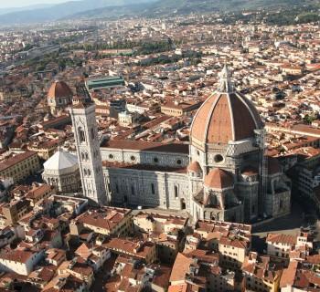 Vista su Firenze dall'alto