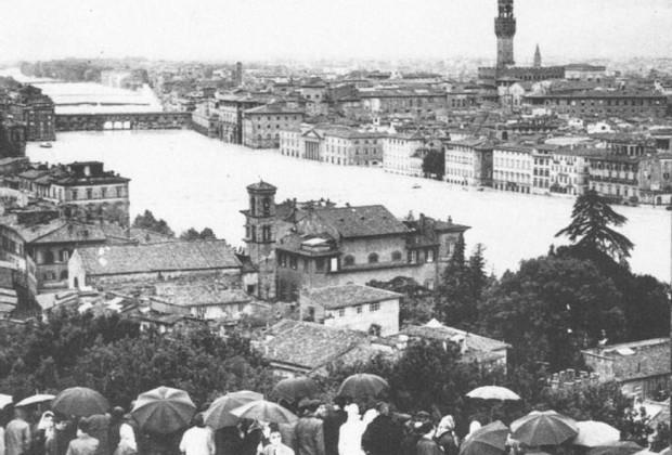 Alluvione a Firenze