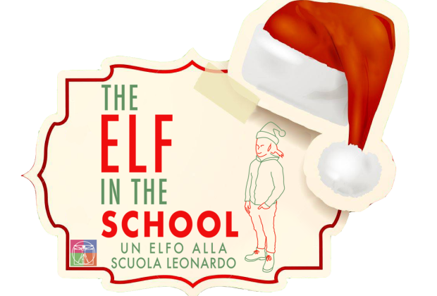 Elf in the school - Un elfo alla Scuola Leonardo con una missione speciale